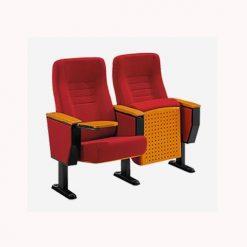 Ghế hội trường đệm nỉ màu đỏ Xuân Hòa GS32-15B