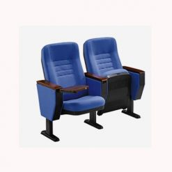 Ghế hội trường đệm nỉ màu xanh Xuân Hòa GS32-18B