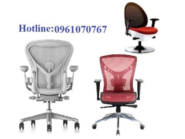 Ghế xoay văn phòng tựa lưới chân nhôm MT-442