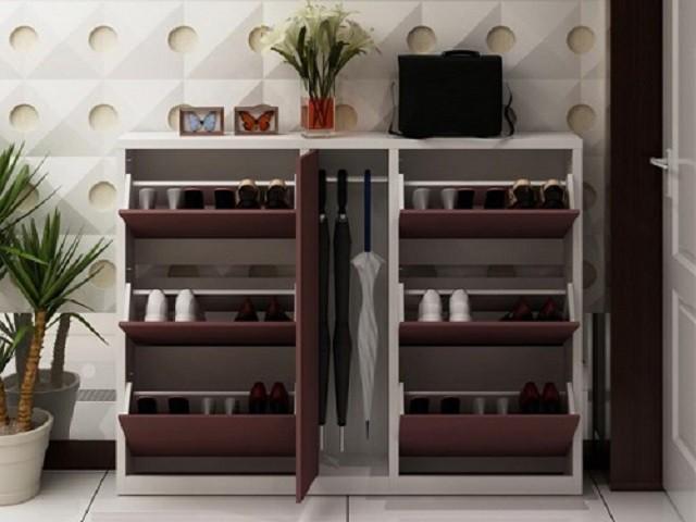 Tủ giày 2 khoang TGD-BN128